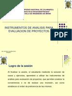 2.0 SEMANA 2_INSTRUMENTOS DE ANALISIS PARA EVALUACION DE PROYECTOS
