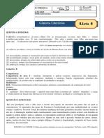 monitoria - lista 4 -gabarito