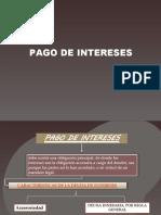 16 PAGOS DE INTERES