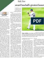 2010 World Series column