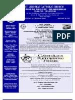 January 30, 2011 Bulletin