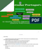 Como estudar português - 1O Mapas Mentais Sobre A Lingua Portuguesa