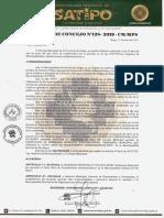 ORDENANZA MUNICIPAL N°19- 2019 TUPA ACTUALIZADO