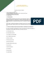 RESCISÃO CONTRATUAL - Cálculo do IRFonte