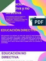 EDUCACION DIRECTIVA Y NO DIRECTIVA