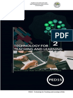 PED 15 prelim module and activity