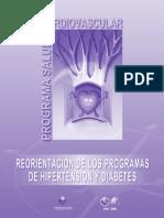Reorientacion de los Programas de Hipertension y Diabetes, Minsal 2002