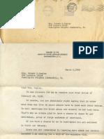 Soviet Goodwill Letter, 1958