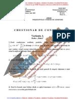 ListaFacultati.ro Subiecte Admitere Academia Tehnica Militara Bucuresti Fizica 2005