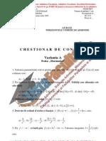 ListaFacultati.ro Subiecte Admitere Academia Tehnica Militara Bucuresti Matematica 2005