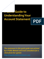 A Guide to Understanding Your Public Mutual Account Statement