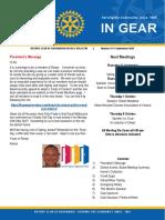 In Gear Week 12 14 September