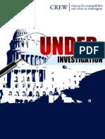 Under Investigation Report