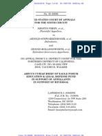 Brief of Amicus Curiae Eagle Forum Education & Legal Defense Fund in Support of Defendant-Intervenors-Appellants