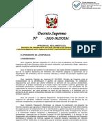 PROYECTO_DECRETO_SUPREMO_QUE_APRUEBA_EL_REGLAMENTO_DEL_DECRETO_DE_URGENCIA_022-2020 (1)