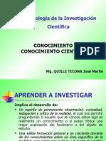 CLASE 1 CONOCIMIENTO CIENTIFICO