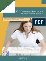 MF0246_3_ Organización de un sistema de información de consumo