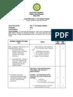 course outline Educ 17