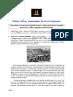 Military History Anniversaries 0916 Thru 093019
