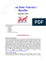 Vet State Benefits - Or 2020