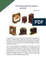 Carga sobre los transformadores de medida y protección. Andres Granero.pdf