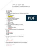 PATOLOGIA - examen