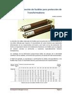 Criterios de Elección de Fusibles para Protección de Transformadores. Andres Granero.pdf