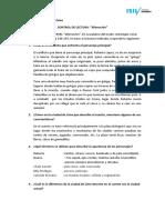 CONTROL DE LECTURA - ALIENACIÓN - CINTYA CHAPARRO DELZO