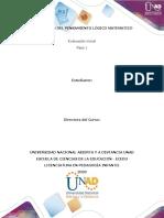 Plantilla de trabajo - Paso 1 - Reflexión DPLM