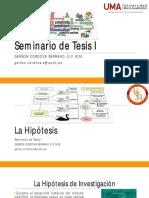 U2S2 - Hipotesis y objetivos