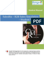 SalesBiz - Student Manual