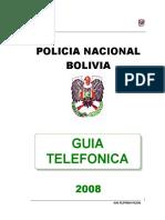 GUIA TELEFONICA POL. BOL.