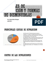 parcial 3 Causales de devolucion heinz