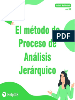03 El Método AHP - Proceso de Análisis Jerárquico