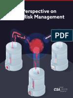 CSA-Risk Management-Update