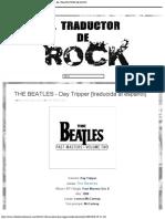 THE BEATLES - Day Tripper [traducida al español] - EL TRADUCTOR DE ROCK