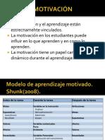Motivación en el aprendizaje