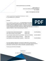 AUDITORIA GESTION FORO