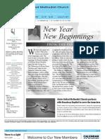Newsletter - January 21, 2011