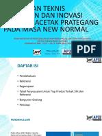Materi Ir. Prjiasambada, m.t_bimtek Pekerjaan & Inovasi Beton Pracetak Prategang Pada Masa New Normal - Bangunan Gedung