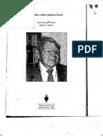 La nulla coactio sine lege como pauta de trabajo en materia de medidas de coerción en el proceso penal - Gustavo A. Bruzzone (1)