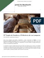 El Templo de Dendera y El Misterio de Las Lamparas.pdf