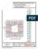 IBC-M100-077-01- ACCESS SCAFFOLDING LAYOUT(MOSQUE)