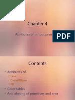 Chapter 4 primitives attributes(1)