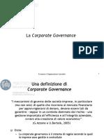 0.1 Slide sulla Corporate Governance