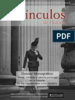 VINCULOS DE HISTORIA- MODA