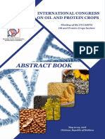 INTERNATIONAL CONGRESS ON OIL AND PROTEIN CROPS