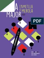Festa Major de l'Ametlla de Merola 2020