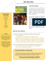 """""""Uno Para Todos"""" 0rientaciones docentes de Filmin Club en castellano"""