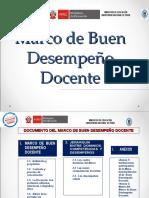 (opcional) PPT Marco de Buen Desempeño Docente_JORNADAS